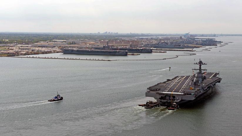 EEUU reactiva flota en el Atlántico en medio de tensiones con Rusia