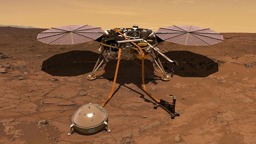 """""""Algo que nunca hemos hecho"""": La NASA lanza InSight para ver cómo es Marte 'por dentro' (VIDEO)"""