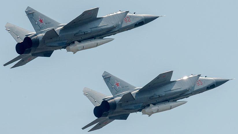 Rusia se arma con 10 cazas con misiles hipersónicos capaces de burlar cualquier sistema de defensa