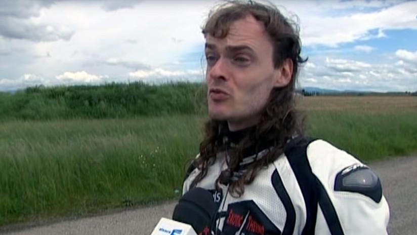 Muere trágicamente el famoso 'hombre cohete', que batió el récord de velocidad en bicicleta