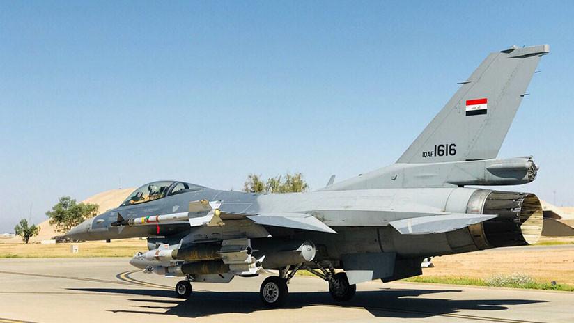 La Fuerza Aérea iraquí ataca posiciones del Estado Islámico en Siria