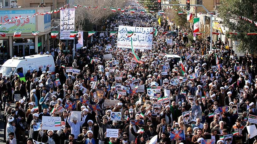 """Abogado de Trump asegura que el """"cambio de régimen"""" en Irán está en la agenda del presidente"""