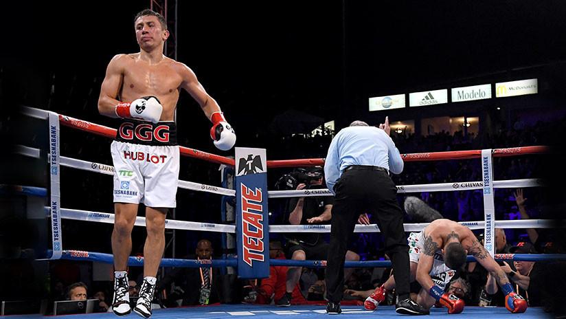 El invencible Golovkin: Luchador kazajo vence por K.O. a Martirosyan en dos rounds (VIDEO)