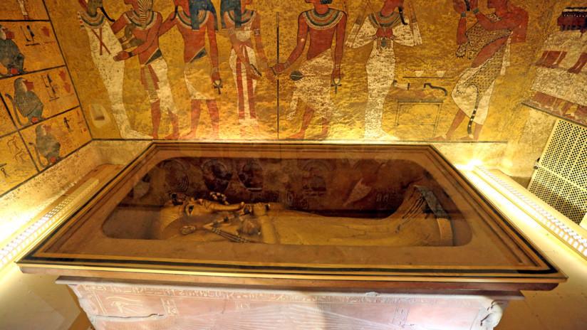 Revelan el resultado final de la búsqueda de cámaras secretas en la tumba de Tutankamón