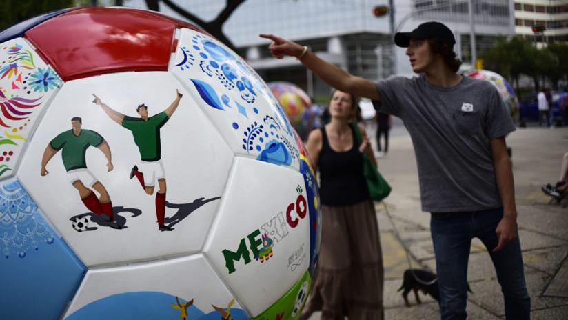 Balones gigantes mexicanos serán exhibidos en Rusia