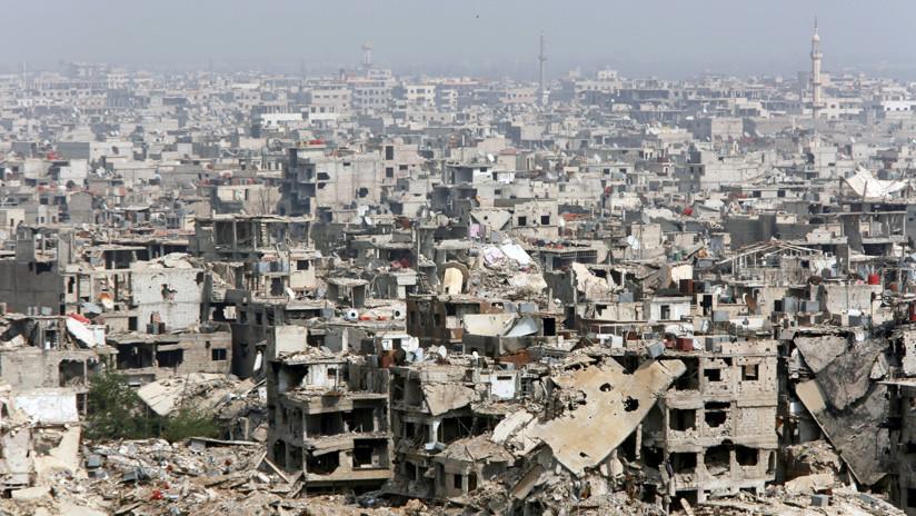 El Ejército sirio dividirá en dos una zona de  Damasco controlada por el Estado Islámico