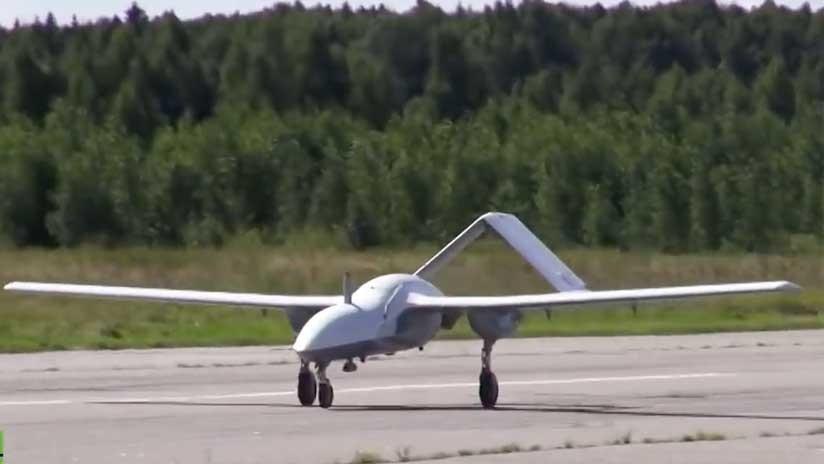 VIDEO: El dron militar ruso Korsar exhibe sus capacidades en el aire