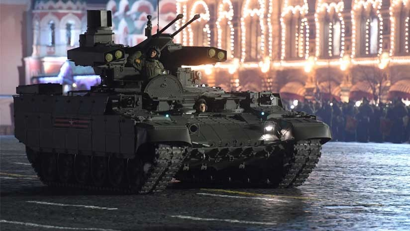 VIDEO: La plataforma rusa de combate Terminator muestra su enorme potencial de fuego