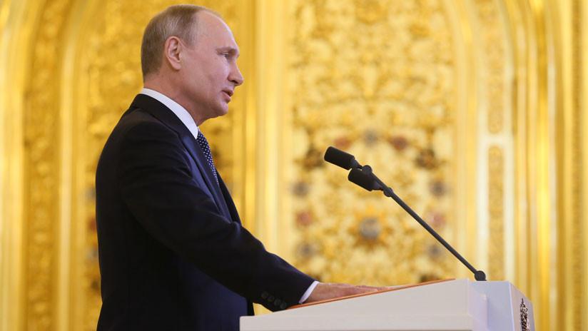 Trump felicita a Putin por su investidura como presidente de Rusia