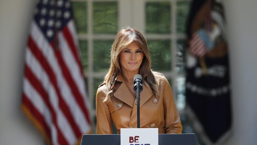 'Sé mejor': Melania Trump presenta su programa oficial destinado a los niños