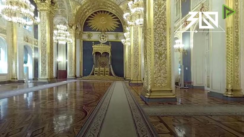 Siguiendo los pasos de Putin: La ruta de investidura del presidente por el Kremlin en 360º