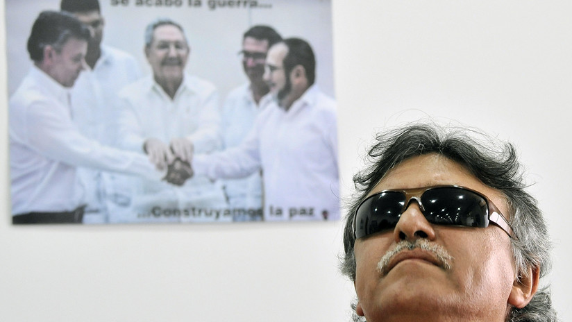 Colombia: Instan al exguerrillero 'Santrich' a cesar huelga de hambre y vivir por la paz
