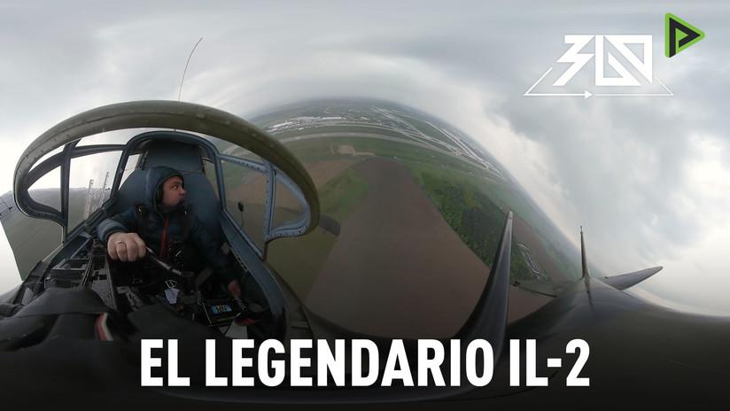 RT muestra el primer video panorámico en la historia grabado a bordo del legendario avión Il-2
