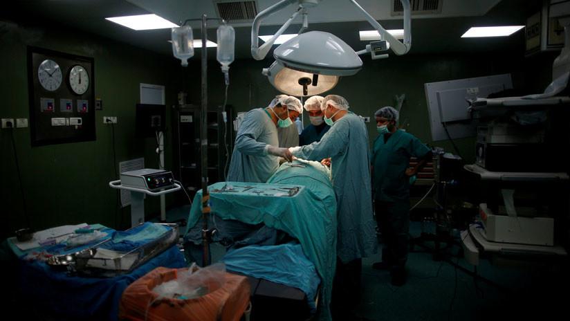 FUERTES IMÁGENES: Un hombre queda con un agujero en la cara tras recibir un diagnóstico erróneo