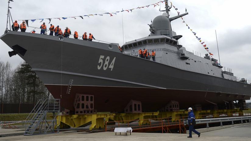 Rusia arma a su numerosa flota de pequeñas corbetas con potentes medios antiaéreos
