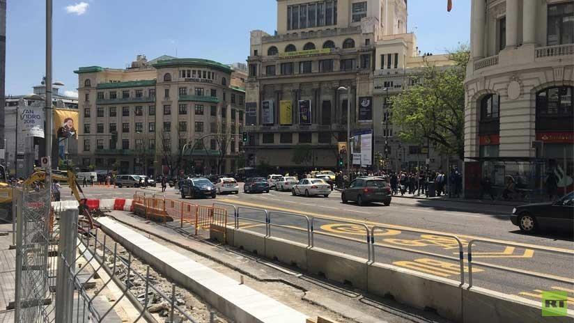 Una fuga de gas en el centro de Madrid interrumpe una conferencia sobre 'fake news'