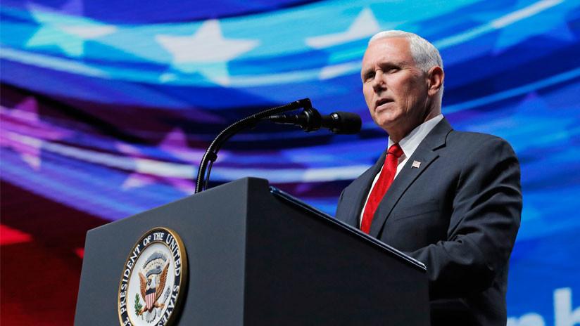 """Venezuela: El discurso de Pence ante la OEA busca """"perturbar la paz del pueblo venezolano"""""""