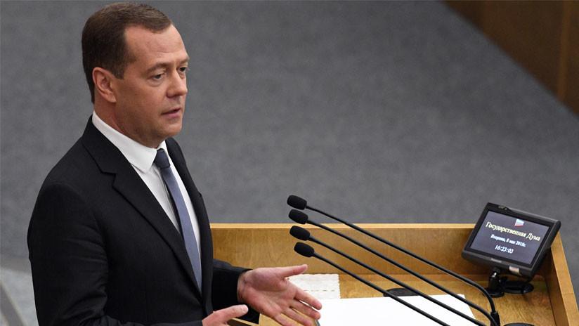 Dmitri Medvédev, designado primer ministro ruso