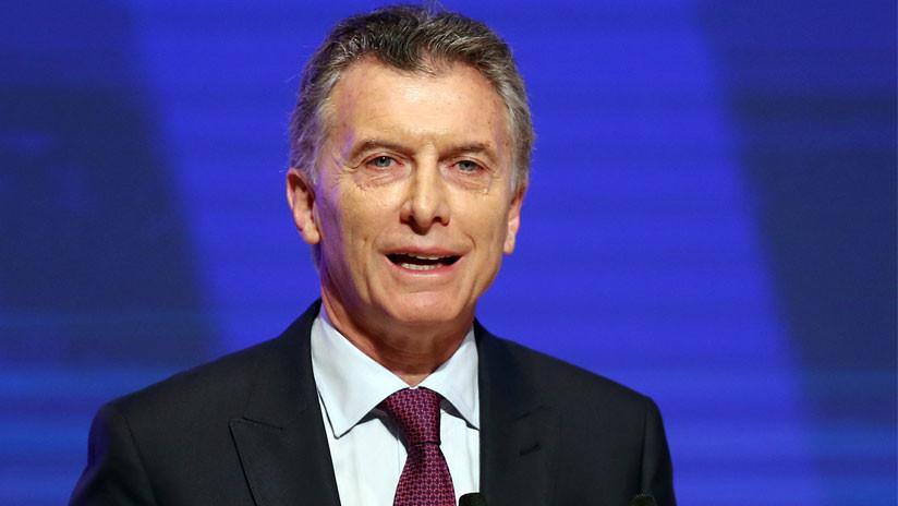Macri anuncia que pedirá un préstamo al FMI