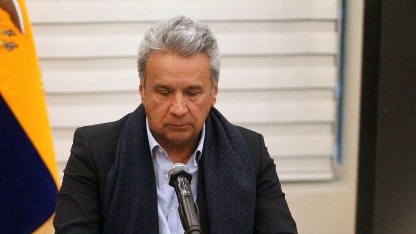 Ecuador: Lenín Moreno pide la renuncia de todo su gabinete de Gobierno