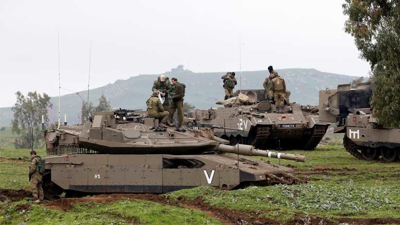 Ejército israelí en 'alerta máxima' y refugios antiaéreos preparados en los Altos del Golán