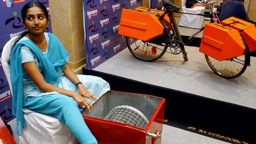 A sus 14 años creó una lavadora a pedal y hoy innova para los mas necesitados