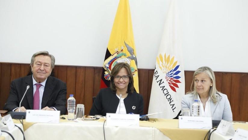 Eurodiputados se comprometen a apoyar pedido de Ecuador para eliminar visado Schengen