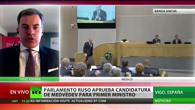 """""""El nuevo Gobierno ruso tiene el reto de generar un clima de confianza con Occidente"""""""