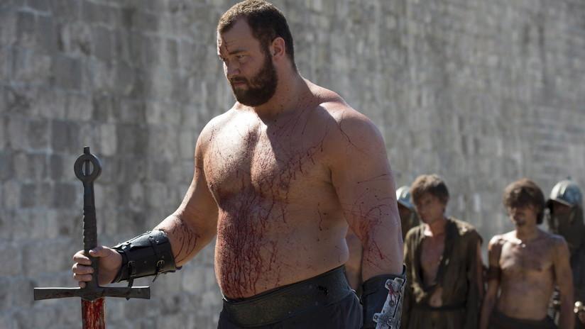 'La Montaña' de 'Juego de Tronos' se corona como el hombre más fuerte del mundo