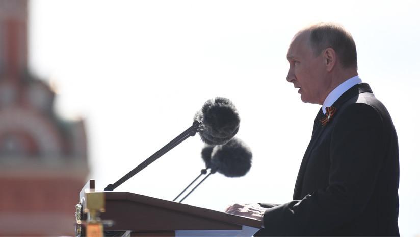 Rusia celebra 73 años de la Gran Victoria con tradicional desfile