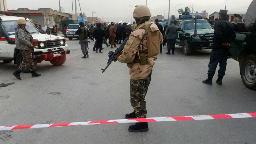 Afganistán: Fuertes explosiones sacuden Kabul (VIDEO)