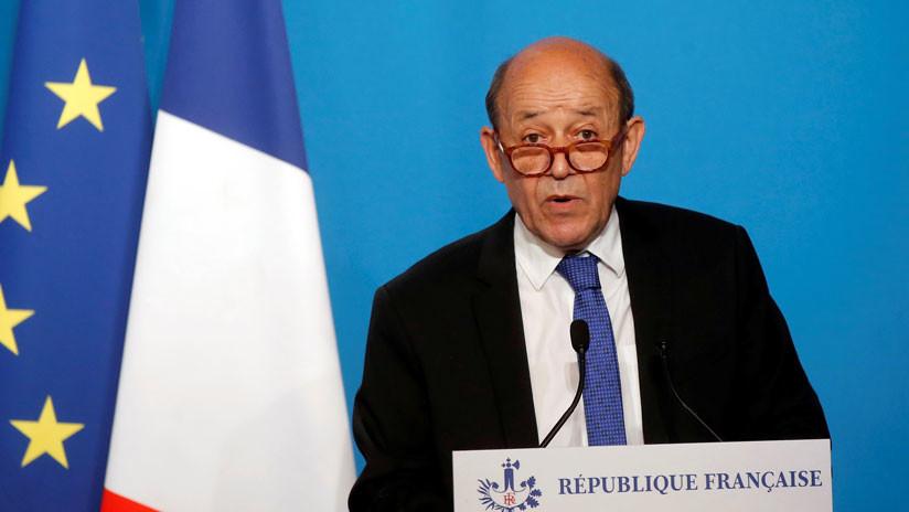 """Ministro de Exterior francés dice que el acuerdo con Irán no está """"muerto"""" tras la retirada de Trump"""