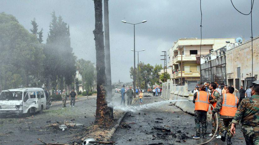 Al menos cuatro muertos y 24 heridos en ataques terroristas en Damasco