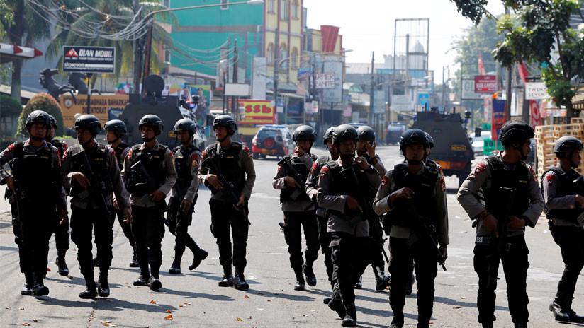 Cinco policías muertos y uno secuestrado en disturbios en una cárcel de Indonesia