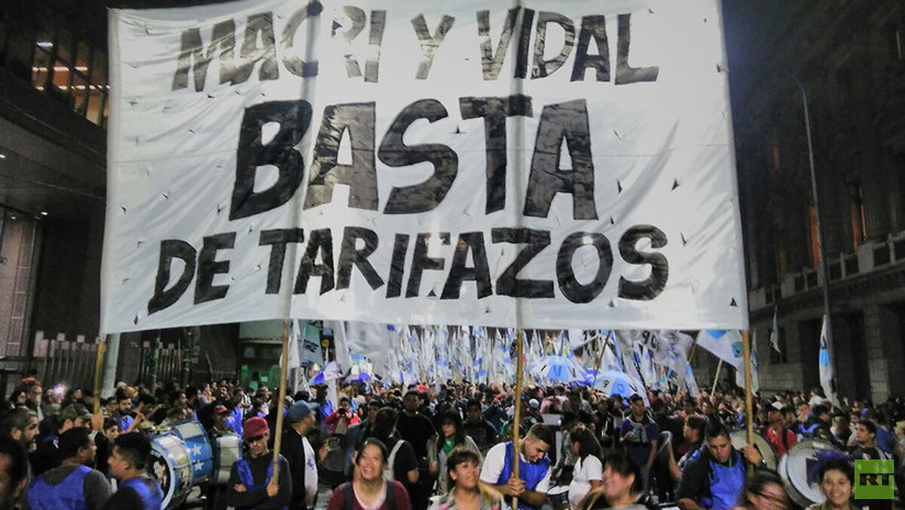 FOTOS: Miles de argentinos protestan contra el FMI y la escalada de precios