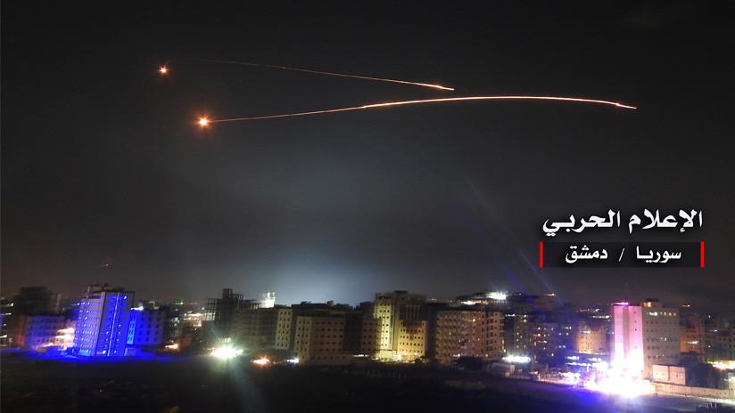 Moscú: 28 aviones israelíes lanzaron unos 60 misiles durante los ataques en Siria