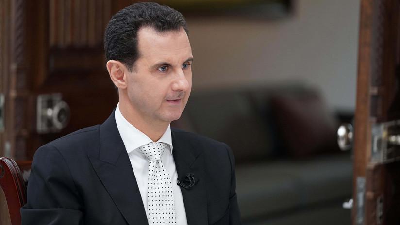 """La respuesta """"como político"""" de Assad después de que Trump lo llamara """"animal"""""""