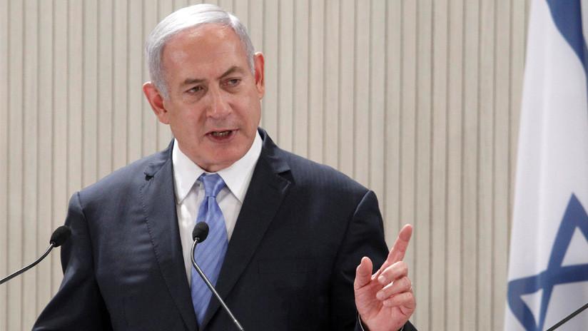 """Netanyahu: Irán cruzó una """"línea roja"""" al disparar misiles contra Israel"""
