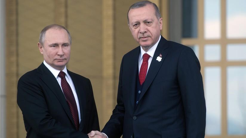Putin y Erdogan destacan que el acuerdo nuclear iraní es primordial para la seguridad internacional