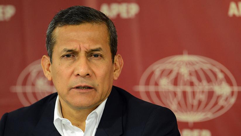 Defensa de Humala pide apartar al juez que lleva el caso contra el exmandatario peruano
