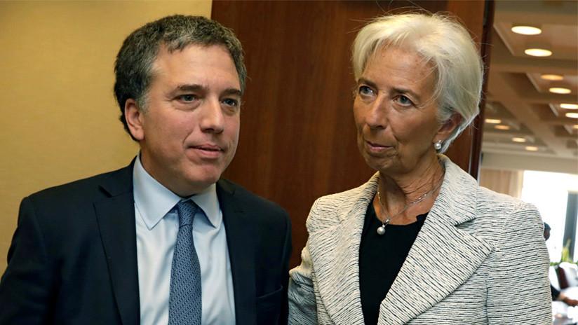 """Christine Lagarde al ministro de Hacienda argentino: """"Estás corto de mujeres"""""""