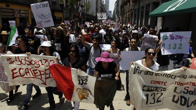 #YoSoy132: a 6 años del movimiento estudiantil que politizó a la generación 'millennial' en México