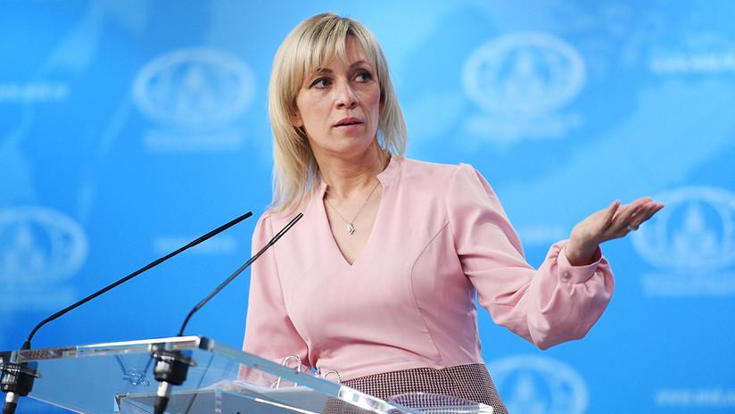 """Zajárova: """"Francotiradores ucranianos amenazaron con violencia física a diplomático ruso en la ONU"""""""