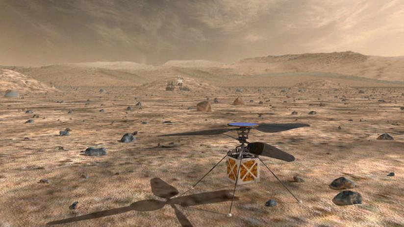 VIDEO: La NASA presenta el proyecto del helicóptero autónomo que enviará a Marte en 2020