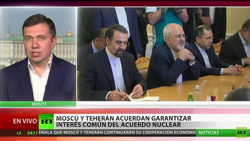 Moscú y Teherán acuerdan garantizar el interés común del acuerdo nuclear