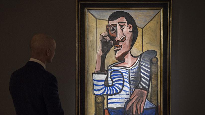 Retiran un cuadro de Picasso de subasta por estar dañado (el dueño ya le hizo un agujero a otro)