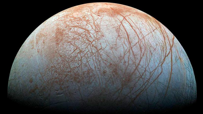 Una luna de Júpiter pudiera tener vida