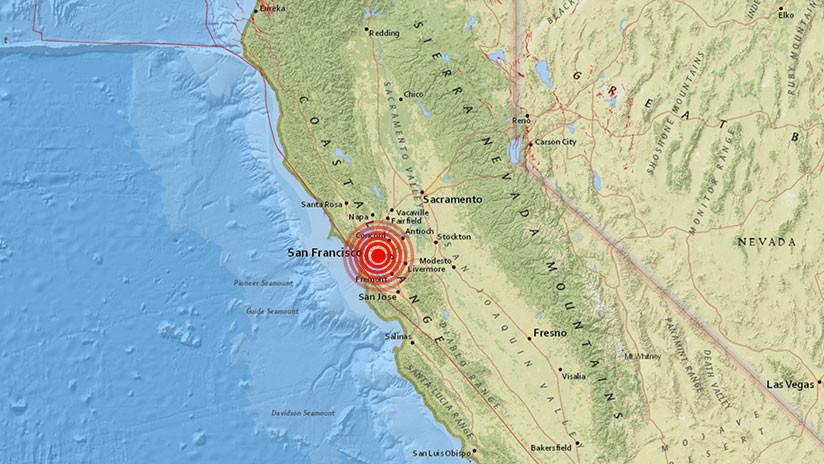 EE.UU.: Se registra un terremoto de magnitud 3,5 en Oakland