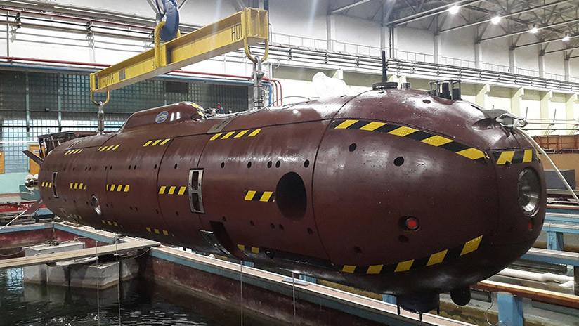 Rusia inicia en Crimea las pruebas de sus drones submarinos de nueva generación