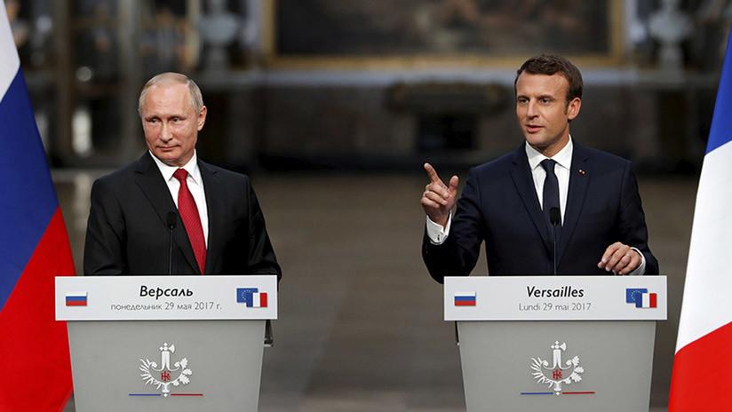 Putin y Macron abordan el acuerdo nuclear iraní y se comprometen a cumplirlo